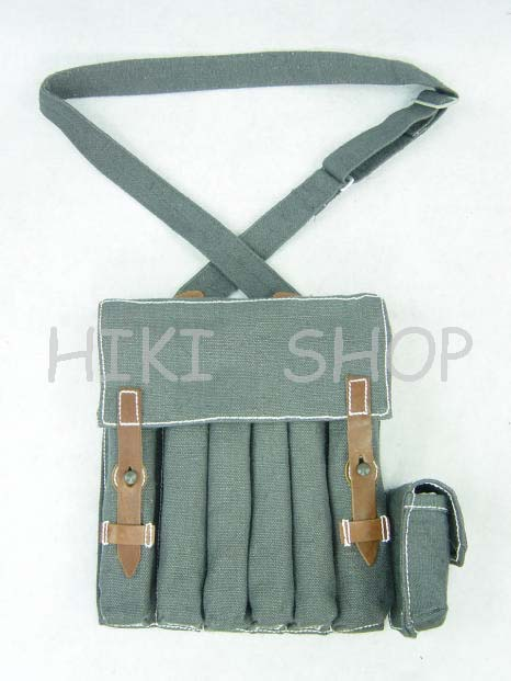 WW2 LW Fallschirmjager 40/MP pouch with strap repro