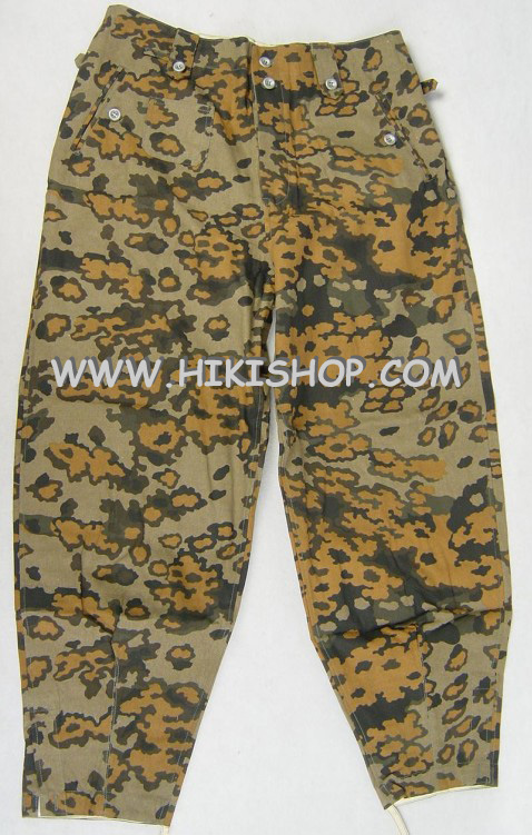WWII German Elite OAK Camo M43 Field Trousers Pants