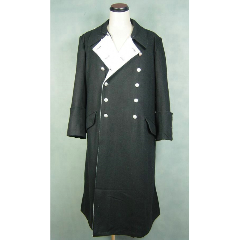 WWII World War 2 German Elite M32 Black Wool General Greatcoat