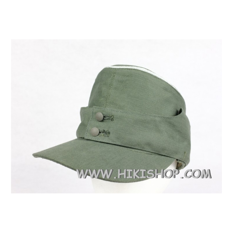 WWII German WH HBT M43 Field Cap Officer Reproduction