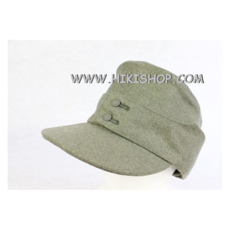 WWII German Elite Wool Field Cap EM Reproduction