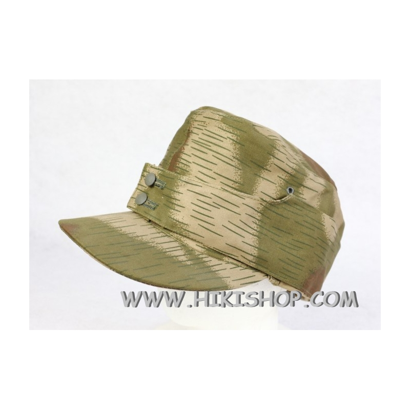LW Gebirgsjägers Mountain Troops Tan & Water Camo Field Cap