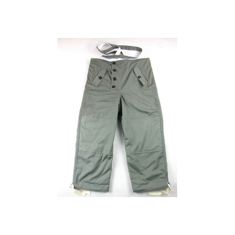 WWII World War 2 German Reversible Winter Trousers Pants Grey