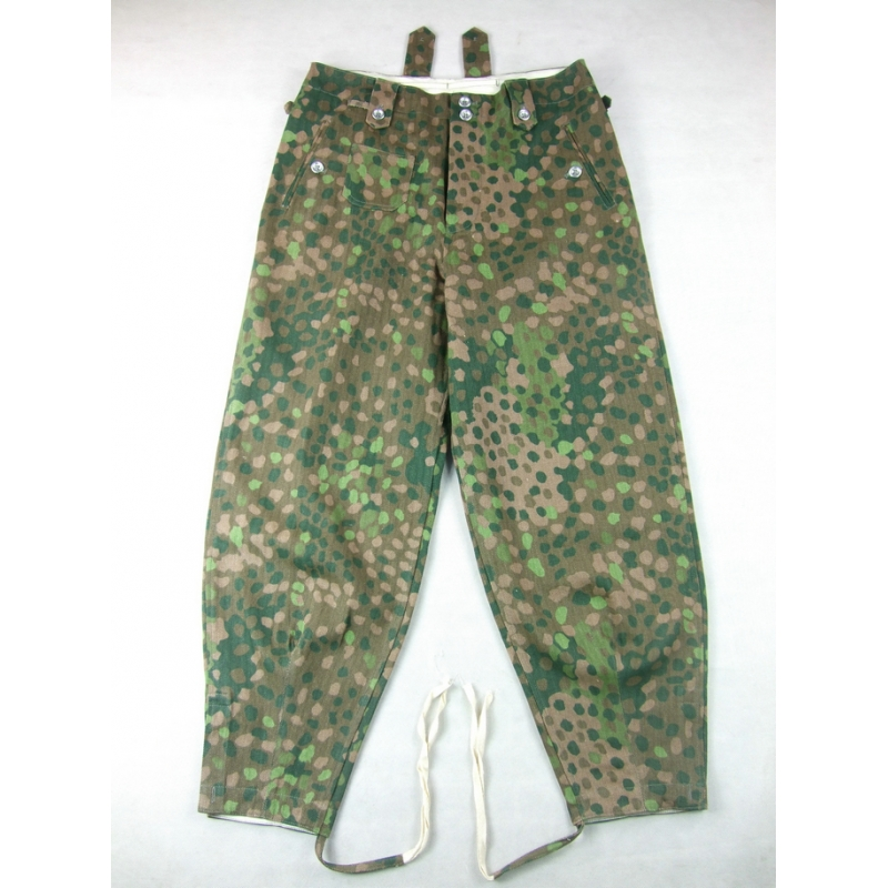 WWII German Elite HBT Pea Dot 44 Field Trousers