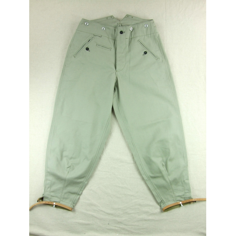 GSitem WWII M37 Mountain Troops Pants Grey Heavy Cotton