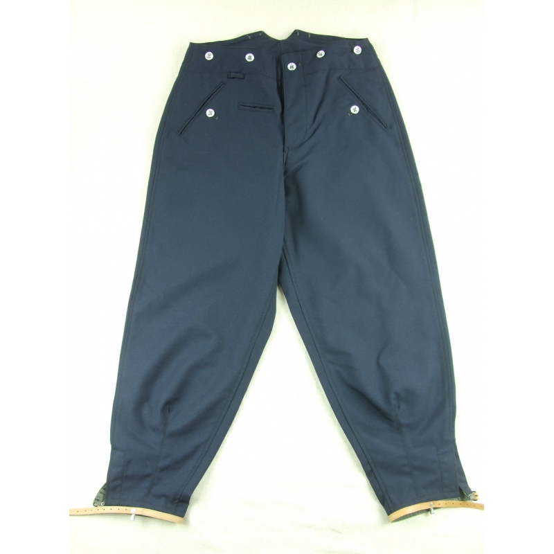 GSitem WWII M37 Mountain Troops Pants Blue Gabardine