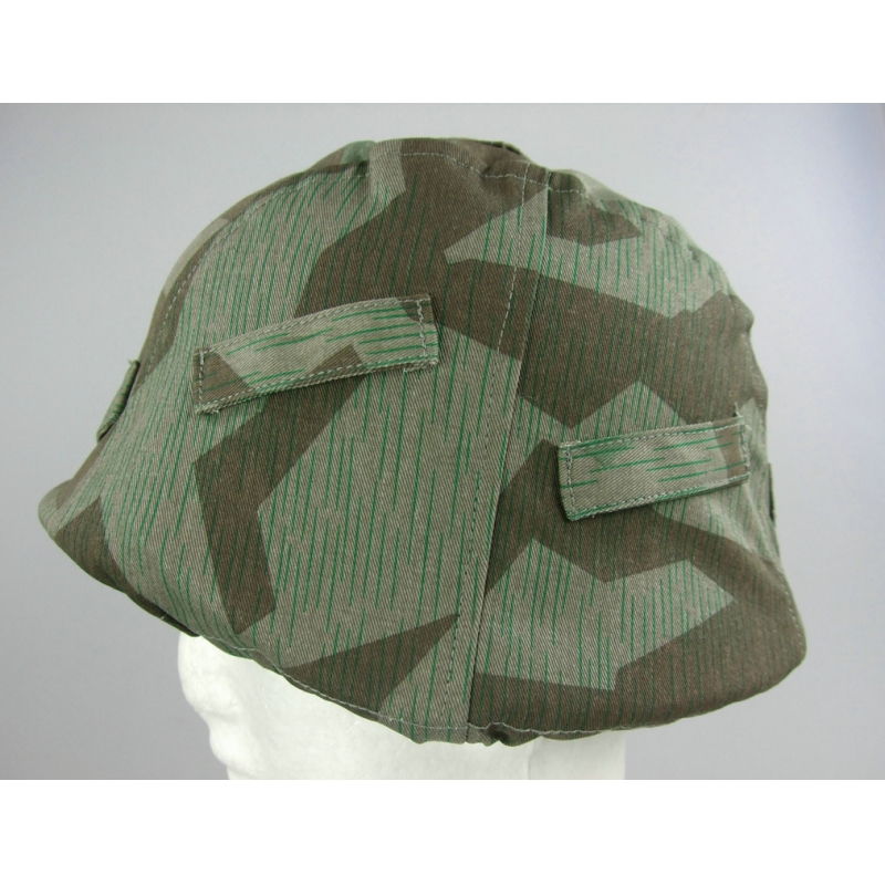 WWII German Split Camo Helmet Cover